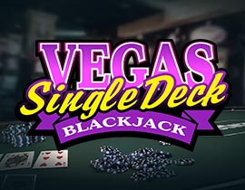 Vegas Single Deck Blackjack