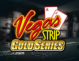 Vegas Strip Gold Series Blackjack